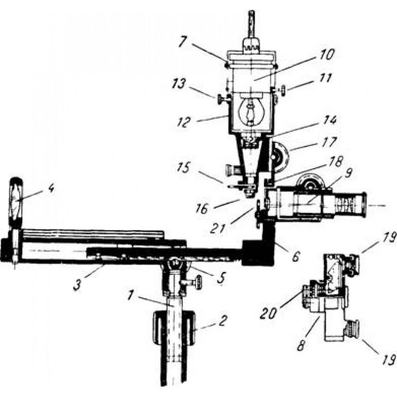 Офтальмоскоп большой БО-58
