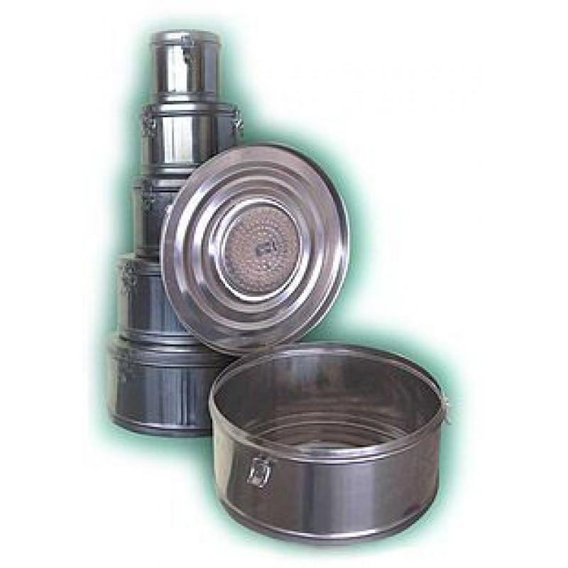 Коробки стерилизационные КСК-6 (Объем 6 дм3, Диаметр 250мм)